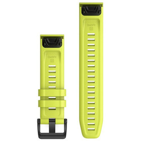 Garmin QuickFit Silikon Uhrenband 22mm für Fenix 6 neon yellow